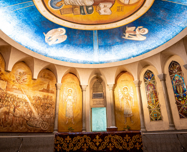 -Shrine of St. Mark
